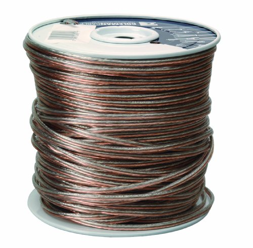 Coleman Cable 94605-66-18 Bulk Speaker Wire, 16-Gauge 2-Conductor AWG 500-Feet Spool by Coleman Cable