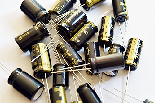 6 pcs Panasonic FM Series Capacitors - 35V 1000uf Ultra Low ESR