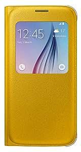 Samsung BT-EFCG920PY - Funda para Samsung Galaxy S6 G920F, color amarillo