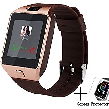 Dz09 Bluetooth Smart Watch All in one, Beaulyn Unlocked Watch Cell Phone, Bluetooth wach for iOS and Android Phones TCL, ZTE,Sony, LG.for Mens and Women ...
