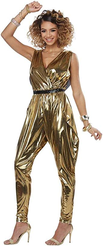 California Costumes Women's 70'S Glitz N Glamour - Adult Costume Adult Costume