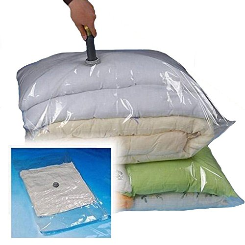 eConsumersUSA 13 Quantity: 12 Large Size 28''x20'' New Improved Vacuum Storage Bags/Space Saver Compressed Bag with 1 TSA Carry-On Travel Pouch Bag
