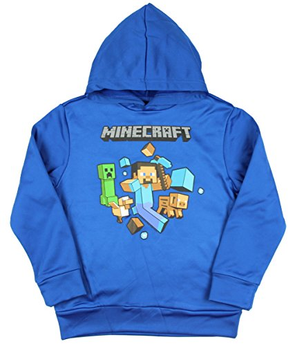 Minecraft Boys Pullover Hoodie (X-Small 4/5)