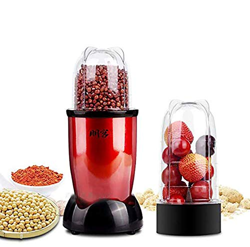 Huanyu 240ml Grain Meat Grinder 500ml Juicer 29000r//min Powder Grinding Machine Multi Mill Pulverizer for Herb Spice Pepper Coffee Bean Meat Fruit
