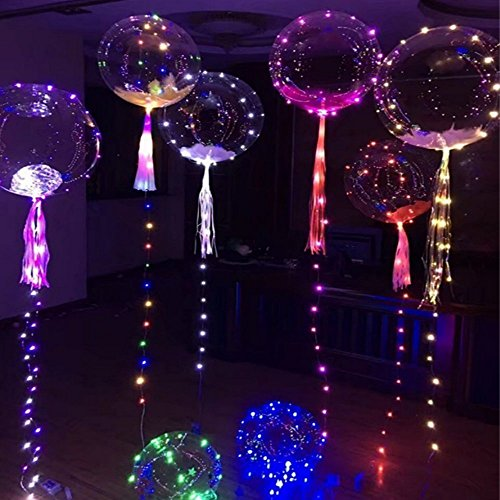 Helium Balloons With Led Lights - 1