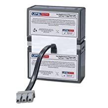 APC RBC32 Replacement Battery Pack for APC BackUPS XS 800 (XS800), APC BackUPS RS 800 (BR800), APC BackUPS BR 900 (BR900), APC BackUPS XS 900 (BX900), APC BackUPS RS 1000 (BR1000), APC BackUPS BR 1000, APC BackUPS RS 1200 (BX1200), XS1000, SC1000
