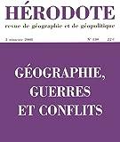 Géographie, guerres et conflits