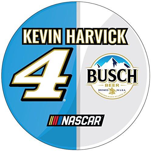 NASCAR #4 Kevin Harvick Round Car Magnet- NASCAR 3