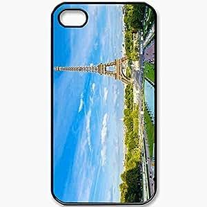 Protective Case Back Cover For iPhone 4 4S Case Ayfelova Kula Black