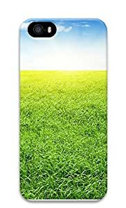 iPhone 5 5S Case The Brilliant Green Grass 2 3D Custom iPhone 5 5S Case Cover
