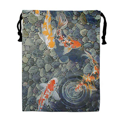 Travel Organisers Koi Fish Packing Suitcase Clothes Underwear Shoes Laundry Makeup Toiletries