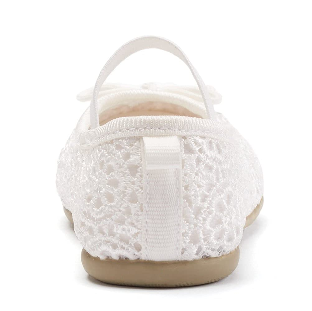 Toddler Girls Carters Ruby Off White Crocheted Flats Shoes