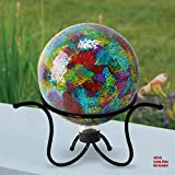Alpine Corporation KAB180 Glass Gazing Globe Metal