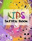 Kids Sketch Book: Graph Paper Notebook