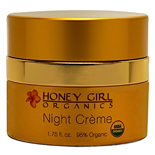 Price comparison product image Honey Girl Organics Night Creme, 1.75 Fluid Ounce