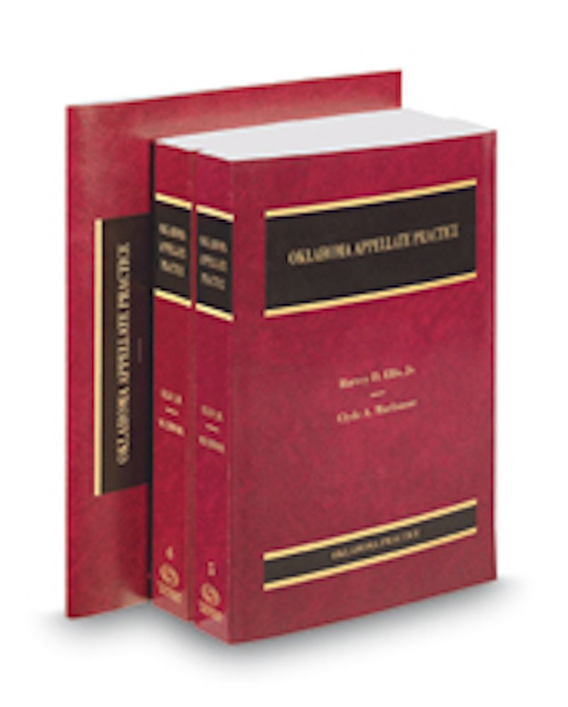 Read Online Oklahoma Appellate Practice, 2016-2017 ed. (Vols. 5, 6, and 6A, Oklahoma Practice Series) PDF