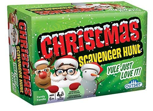 Christmas Scavenger Hunt Game - Includes 220 Cards with Holiday Themed Objects Found both Inside and Outside the Home (Ages 6+) [並行輸入品] B07SDBGYX3