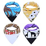 Baby Bandana Teething Bibs for Newborn I...