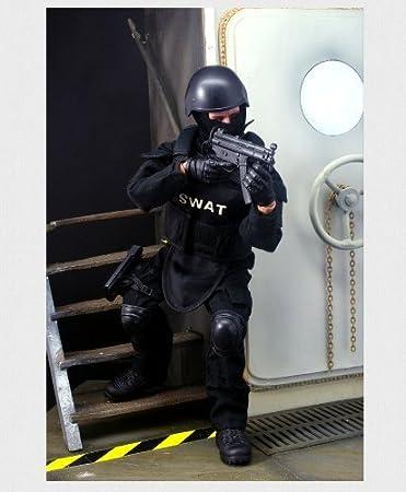 Baellar 12 '' Fuerzas Especiales Soldiers Action Figure - SWAT