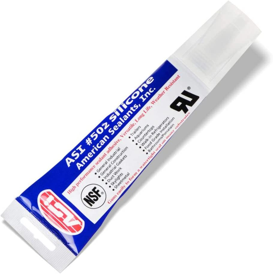 Silicone Sealant 100 Rtv 2 8 Oz Squeeze Tube Clear