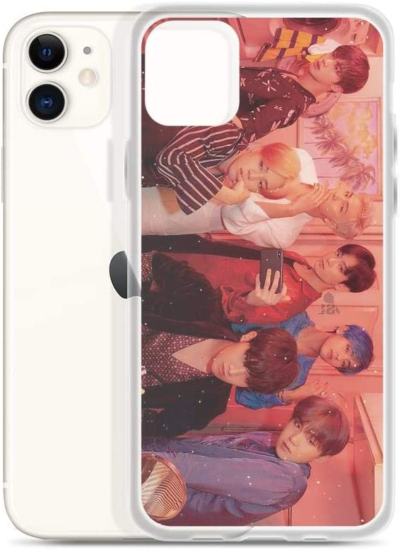 Gryss Compatible with iPhone 11 Case BTS Kpop Love Yourself Bangtan Boys iPod Pure Clear Phone Cases Cover