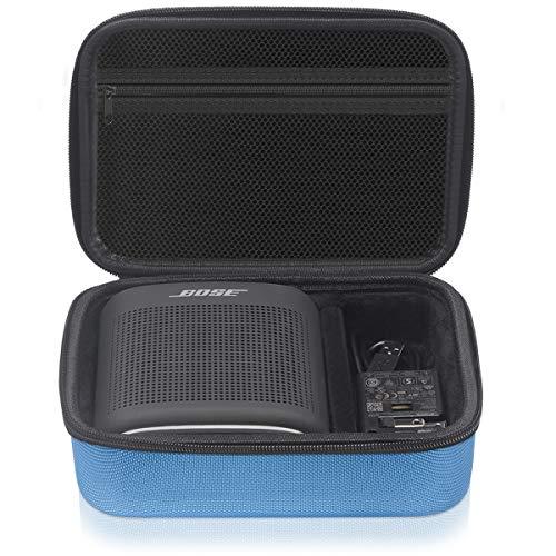 Geecow EVA Hard Case for Bose SoundLink Color Bluetooth Speaker II, Portable Shockproof Travel Storage Case Holder Fits USB Cable and Charger (Blue)