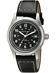 Hamilton Mens H70455733 Khaki Field Watch