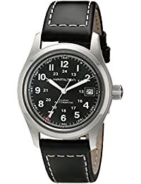 Men's H70455733 Khaki Field Watch