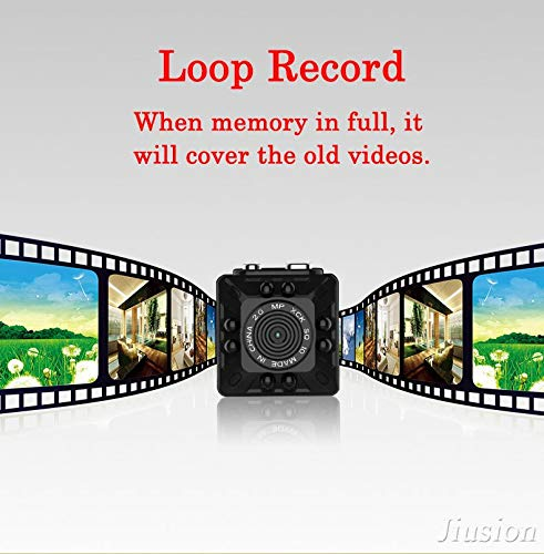 Amazon.com : Smallest hd 1080p Mini Camera Micro cam Digital Voice Video Recorder Night Vision Camcorder for Sport Action Nanny Helmet Bike : Camera & Photo