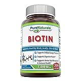Pure Naturals Biotin 5000 Mcg, Capsules (200)