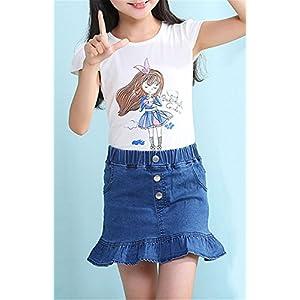 Ameyda Girls' Denim Skirt