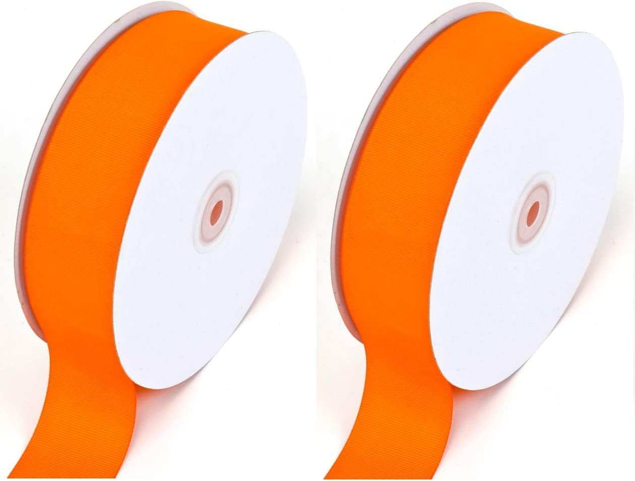 Creative Ideas Solid Grosgrain Ribbon 1-1//2-Inch by 50-Yard White