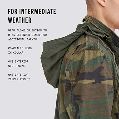 Alpha Industries Men's M-65 Defender Field Coat