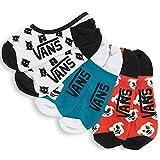 Vans Women's Canoodles No Show Socks, Multi Puppy Party, Size 6.5-10