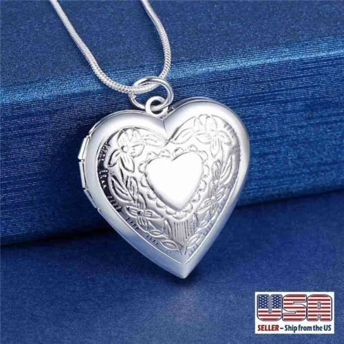 925 Sterling Silver Locket - 9