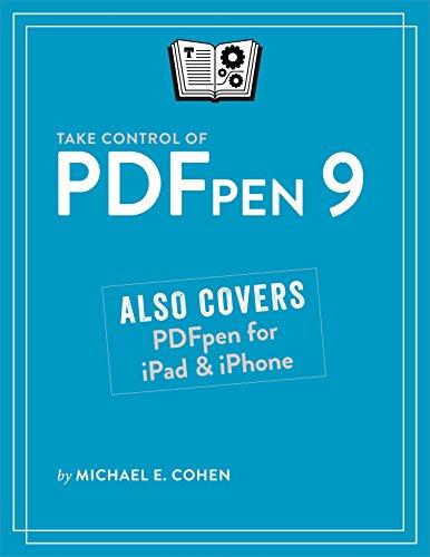 Take Control of PDFpen 9