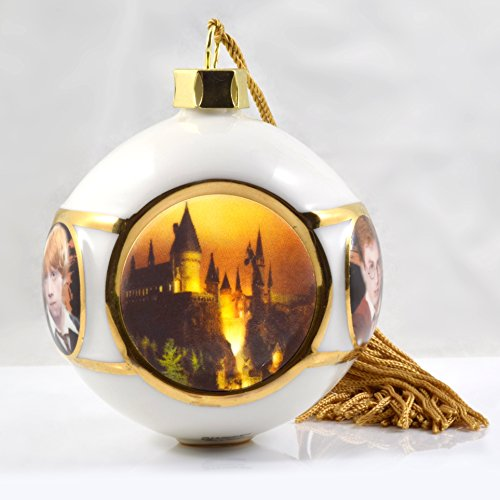 Harry Potter China - Universal Studios Wizarding World of Harry Potter Deluxe Hogwarts Castle China Christmas Ornament