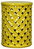 New Pacific Direct Lattice Garden Stool,Lemon Yellow,Fully Assembled Review