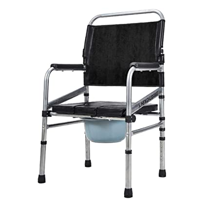 MMZZ Toilet Chair Silla Plegable para Inodoro, Silla ...