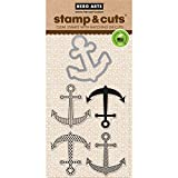Hero Arts Stamp and Cut Anchor Stamp with Matching Die Cut Set by Hero Arts