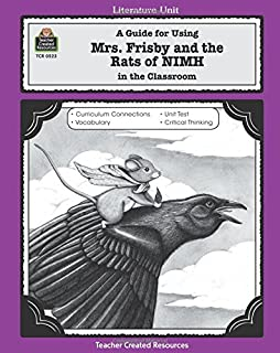 Discussion Activity for Mrs. Frisby and the Rats of NIMH by ...