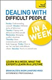 img - for Dealing with Difficult People In a Week A Teach Yourself Guide book / textbook / text book