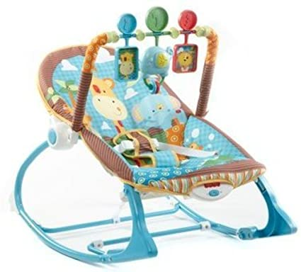 Fisher-Price Infant-to-Toddler Rocker, Jungle Fun Y7872