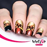 press on decals - Whats Up Nails – P033 Fall Charms Water Decals Sliders for Nail Art Design