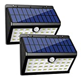 InnoGear Solar Lights 30 LED Wall Light Outdoor Security Lighting Nightlight with Motion Sensor Detector for Garden Back Door Step Stair Fence Deck Yard Driveway, Pack of 2