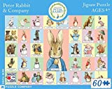New York Puzzle Company - Beatrix Potter Peter Rabbit & Co - 60 Piece Jigsaw Puzzle