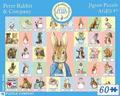 New York Puzzle Company - Beatrix Potter Peter Rabbit & Co - 60 Piece Jigsaw Puzzle by New York Puzzle Company (Image #3)