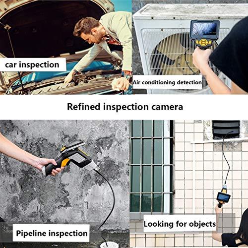 Endoscopio Industrial Del PDA De 1080P HD Con El Monitor LCD Color De 4.3 Pulgadas, CáMara De InspeccióN De Boroscopio Con CáMara De 6 LEDs IP67 A Prueba De ...