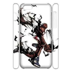 Iphone 5C LeBron James 3D Art Print Design Phone Back Case DIY Hard Shell Protection FG0081086