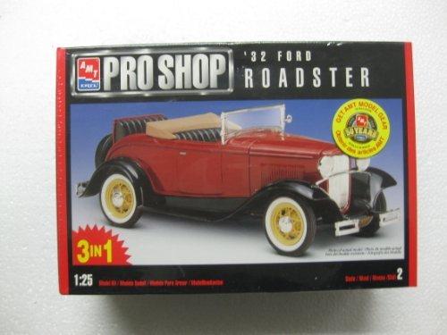 Amt Pro Shop (AMT Pro Shop '32 Ford Roadster 1:25 Skill Level 2 Model# 8351)